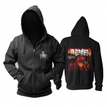 Awesome In Flames Hoody Sweden Metal Rock Hoodie
