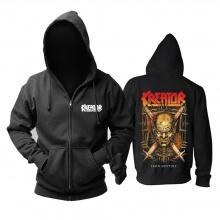 Awesome Kreator Iron Destiny Hoodie Germany Metal Music Sweatshirts
