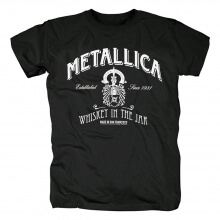Awesome Metallica Whiskey In The Jar Tee Shirts Us Metal T-Shirt