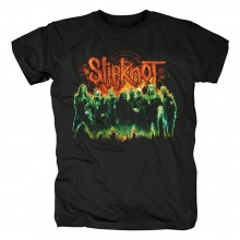 Awesome Slipknot Green Group Tshirts Us Metal Rock Band T-Shirt