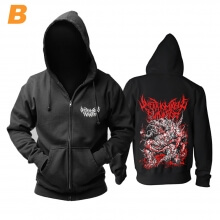 Awesome Unfathomable Ruination Hoody Uk Hard Rock Punk Rock Band Hoodie