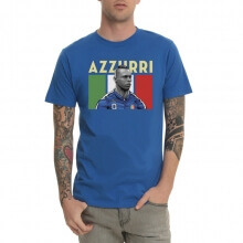 Ballotti Italian Football Team Blue Tshirt