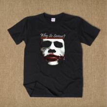 Batman T Shirt Why So Serious Short Sleeve Tee For Men