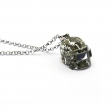 Battlegrounds Openable Camouflage three-level helmet Necklace