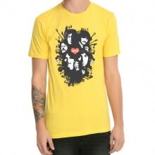 Beatles Metallic Rock Print T-Shirt