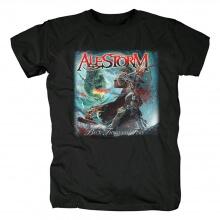 Best Alestorm True Scottish Pirate Metal Tshirts Uk Metal Rock T-Shirt