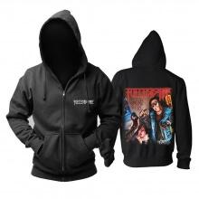 Best Fueled By Fire Hooded Sweatshirts Us Metal Punk Rock Hoodie