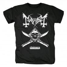 Best Mayhem T-Shirt Norway Metal Rock Tshirts