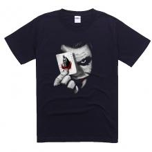 Black Batman Joker Black Tee For Summer