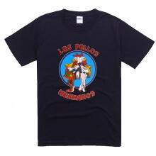 Black Breaking Bad LOS POLLOS HERMANOS Tee Shirt