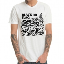 Black Flag Heavy Metal Rock Tee Shirt