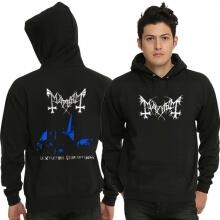Black Metal Band Mayhem Pullover Hoodie
