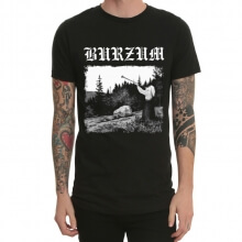 Black Metal Burzum varg T-shirt