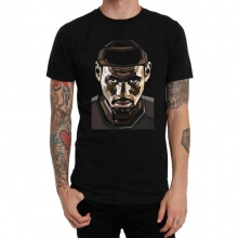 Black NBA Lebron James Tee Shirt