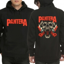 Black Pantera Hooded Pullover Cool