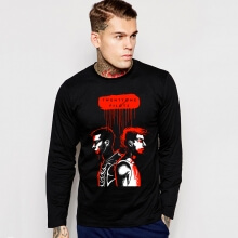 Black Twenty One Pilots Long Sleeve T-Shirt for Mens