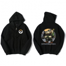 Blizzard Overwatch Bastion Sweatshirt Mens Black Hoody