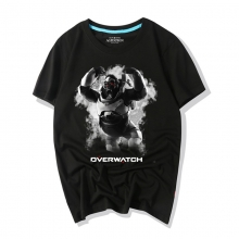 Blizzard Overwatch Ink Print Winston Graphic Tees