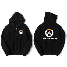 Blizzard Overwatch Overwatch Logo Hoodie For Young Black Sweat Shirt