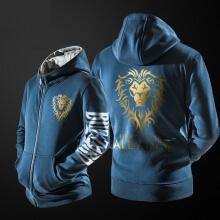 Blizzard World of Warcraft Sweatshirt WOW Alliance Golden Lion Clothing