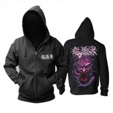 As Blood Runs Black Hoody Hard Rock Metal Rock Hoodie