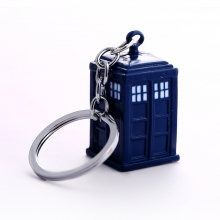 Quality Blue Doctor Who Key Chain