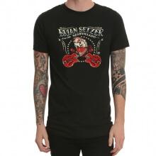 The Brian Setzer Orchestra Metal Rock T-Shirt