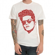 Bruno Mars Rock T-Shirt White