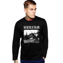 Burzum Black Metal Tee varg vikernes Long Sleeve Tshirt