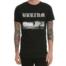 Burzum Heavy Metal Black Tshirt for Mens