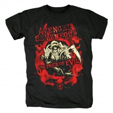 California Hard Rock Metal Graphic Tees Avenged Sevenfold T-Shirt