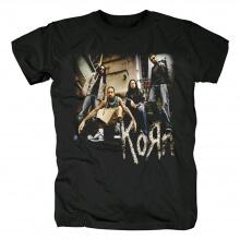 California Hard Rock Metal Punk Graphic Tees Korn Band T-Shirt