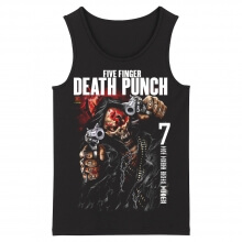California Metal Sleeveless Graphic Tees Five Finger Death Punch Tank Tops