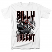 Canada Billy Talent White Surprise T-Shirt Metal Rock Shirts