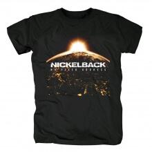 Canada Metal Rock Band Tees Nickelback No Fixed Address T-Shirt