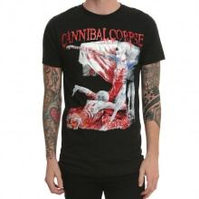 Cannibal Corpse Rock T-Shirt Black Heavy Metal
