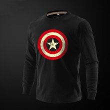 Captain America Long Sleeve T Shirt