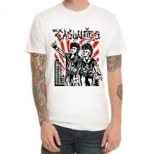 The Casualties Metallic Rock T-Shirt