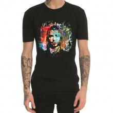 Colorful Kurt Cobain T-shirt