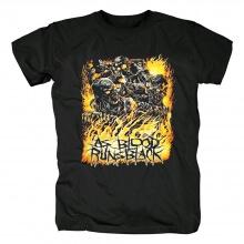 Cool As Blood Runs Black T-Shirt Hard Rock Shirts