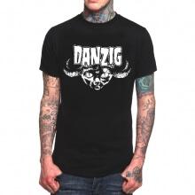 Cool Danzig Band Rock T-Shirt Black Heavy Metal T