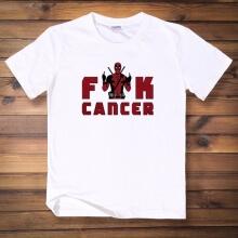 Cool Deadpool Hero Tee Black Cotton Tshirt