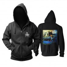 Cool In Flames Hoody Sweden Metal Rock Hoodie