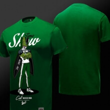 Cool Green Cell T Shirt Dragon Ball NBA Style T-shirt for Boys