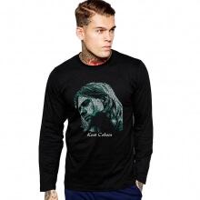 Cool Kurt Cobain Black Long Sleeve Tshirt