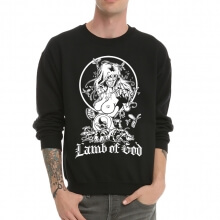 Cool Lamb of God Crew Neck Sweatshirt for Men
