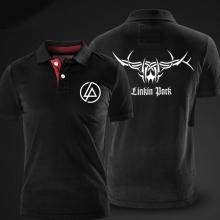Cool Linkin Park Red Polo Shirt XXL Men Cotton Polo