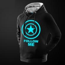 Cool Luminous Captain American Sweatshirt