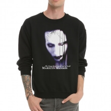 Cool Marilyn Manson Sweatshrit Crew neck