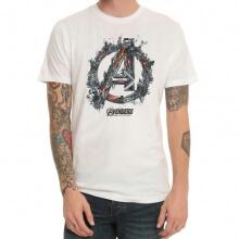 Cool Marvel Avengers Logo T-shirt Black Mens Tee